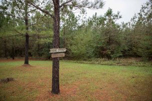 A gentle, easily walkable trail is maintained to the creek where some of the events on the battle unfolded.